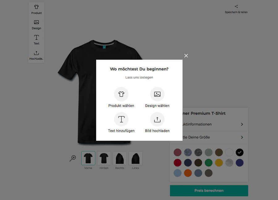 Jesus-Shirts.de - T-Shirt Designer Produkt Auswahl